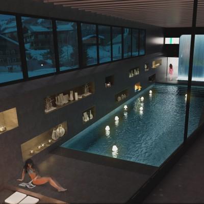 Il neige à Chamonix, Courchevel... et même à Paris : Vite au spa !