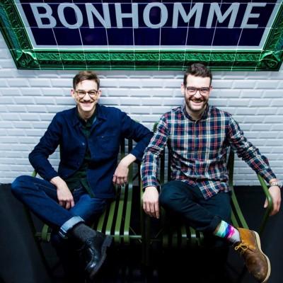 L'interview d'Aurélien Bertrand et de Bastien Sauvage de Bonhomme Paris 2