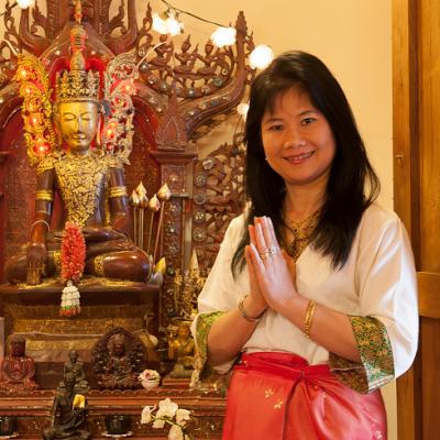 L'interview Thaï et zen de Benjawan Berthelot de l'Espace France Asie à Paris 8
