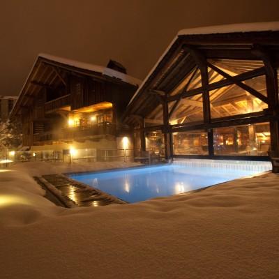 Les meilleurs spas à la montagne, à Courchevel, Megève, Chamonix...