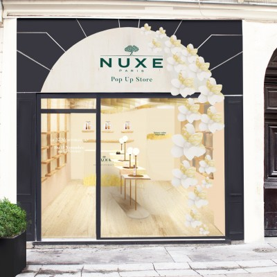 Le nouveau Pop-up store Nuxe Paris Montorgueil