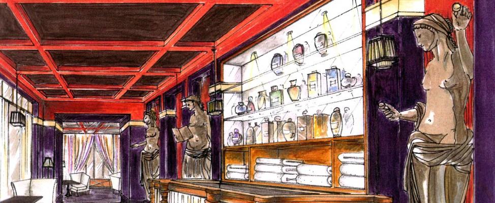 Nuxe accueil for Salon the bordeaux