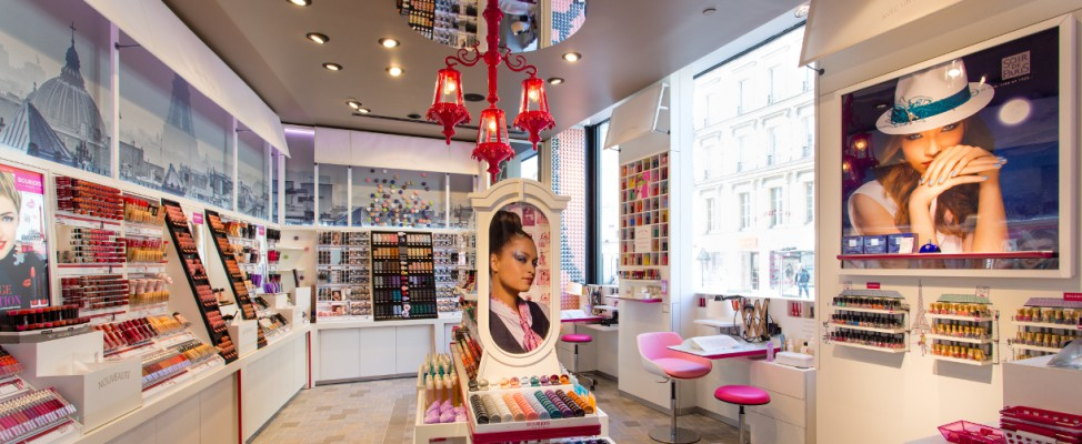 La boutique Bourjois Paris Passage du Havre