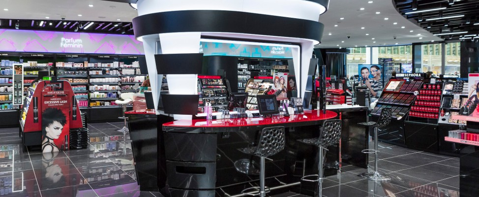 sephora paris les halles bar beaut. Black Bedroom Furniture Sets. Home Design Ideas