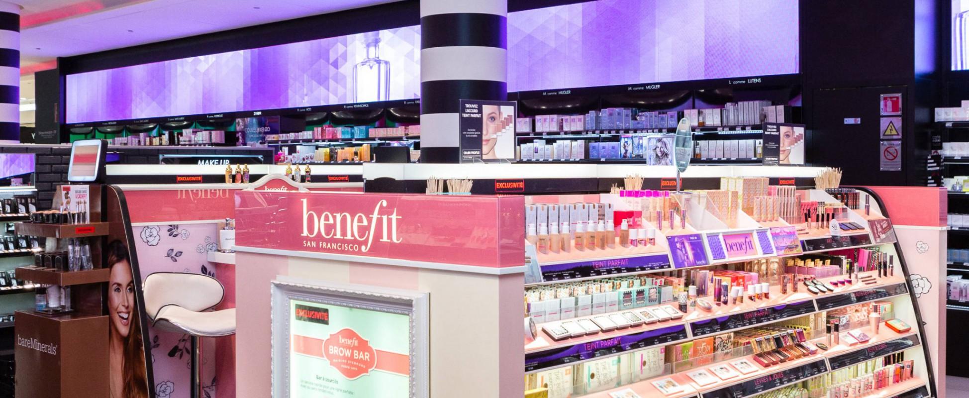 Sephora Lyon République Bar à Sourcils à Maquillage Et