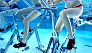 Aquabiking : le vélo se jette à l'eau !