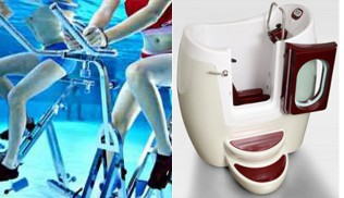 Le match aquabiking - waterbike