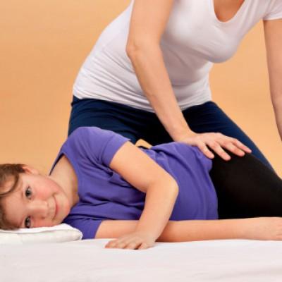 Massage spécifique enfant