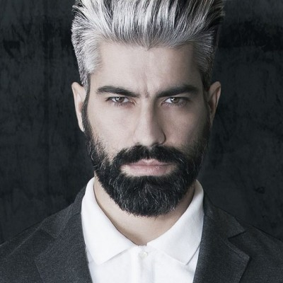 Coloration barbe